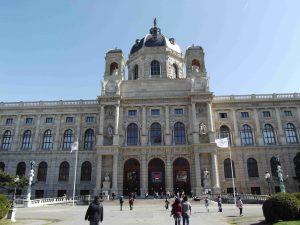 facciata del Kunsthistorisches Museum