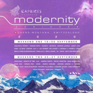 Caprices Festival annuncia la line up per l'edizione di settembre 2020