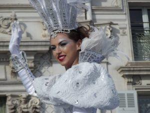 Nizza - la regina del Carnevale 2013 Fanny