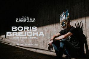 venerdì 22 ottobre 2021 Boris Brejcha @ Fabrique Milano